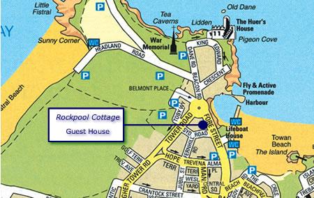 Rockpool Cottage Newquay Cornwall